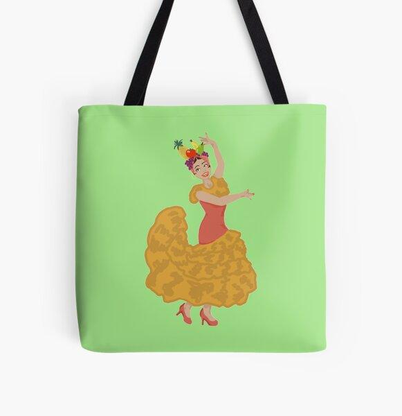 Anita Chiquita Bonita Banana All Over Print Tote Bag