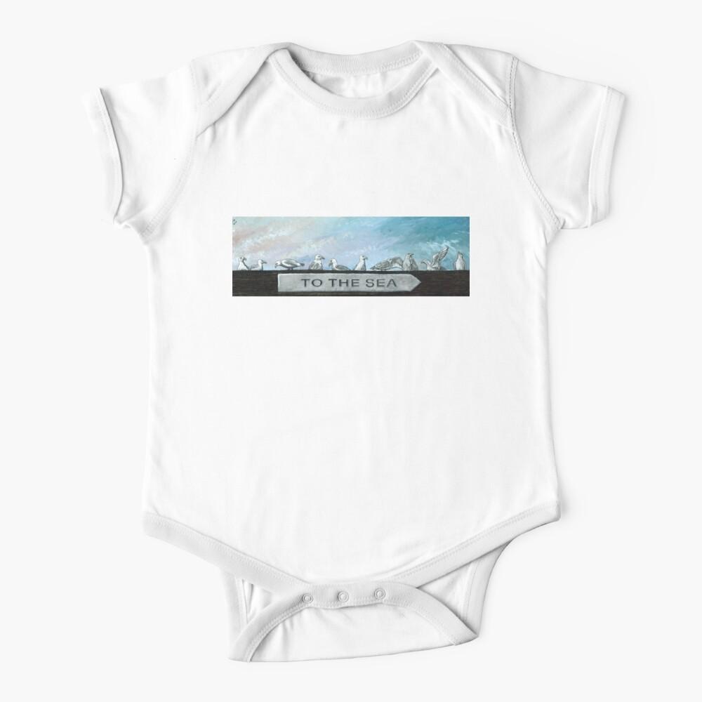 Ten Gulls Baby One-Piece