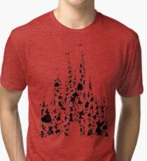 Happiest Castle On Earth Tri-blend T-Shirt