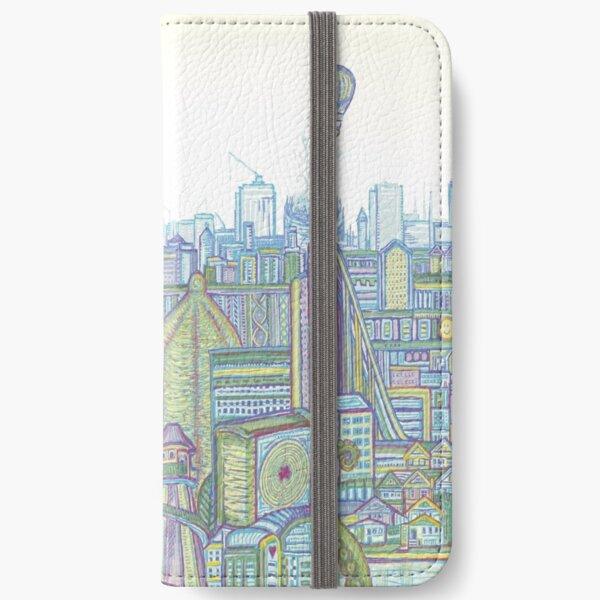 Megatropolis, Riddle District iPhone Wallet