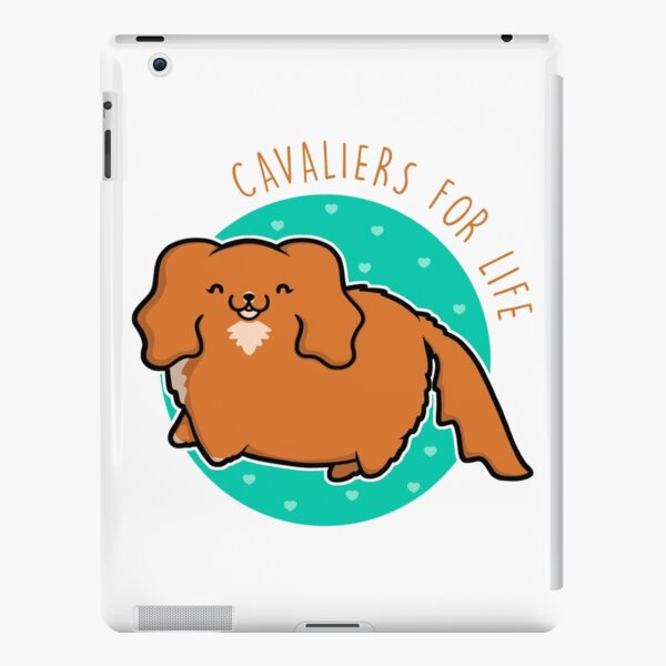 Cavaliers for life - Ruby iPad Snap Case