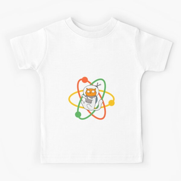 Quarks love cats they are both elementary funny  gifts and apparel for physicists and physics fans Kids T-Shirt