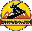 SNOWBOARD SNOWBOARDING SNOW BOARD SNOW BOARDING SKI SKIING by MyHandmadeSigns