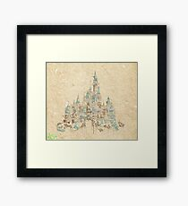 Enchanted Storybook Castle Framed Print