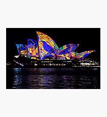 Vivid 2016 Opera House 30 Photographic Print