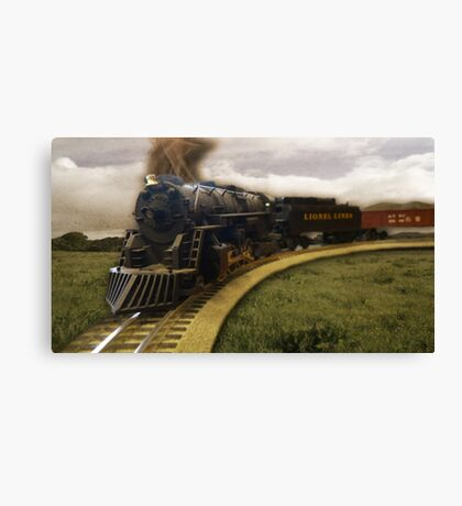 Old Train Canvas Print