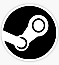 Modern Steam Logo - High Fidelity Sticker