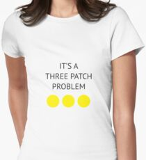 A Three Patch Problem T-Shirt