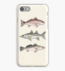 Inshore Slam Watercolor iPhone Case/Skin