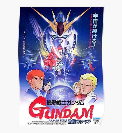 Mobile Suit Gundam - Char's Counterattack Poster