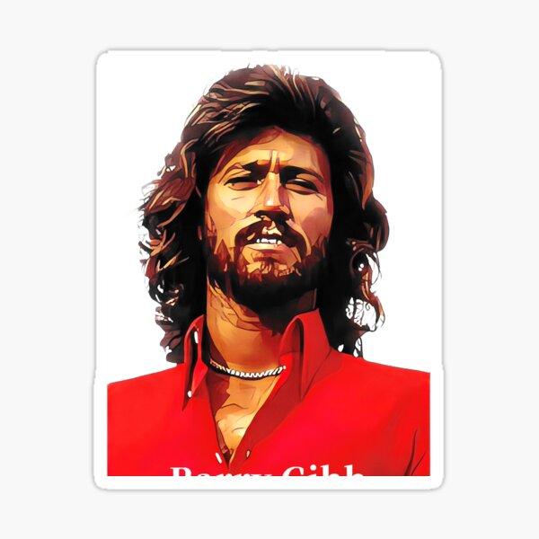Barry Gibb Sticker