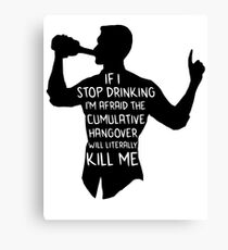 Archer - Cumulative Hangover  Canvas Print