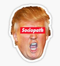 Trump Sociopath Sticker