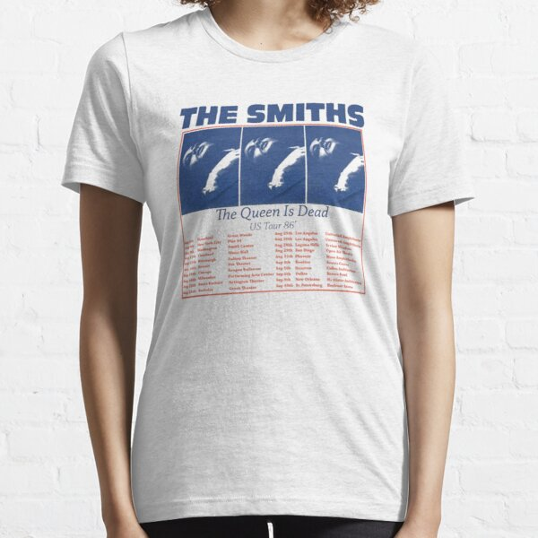 The Smiths Us Tour 1986 The Queen Is Dead Essential T-Shirt