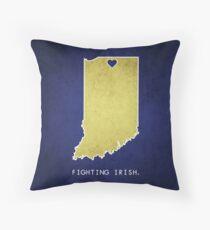Notre Dame - Fighting Irish Throw Pillow