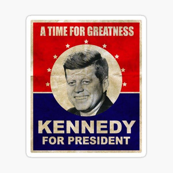 John F. Kennedy for President 1960 JFK Sticker
