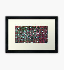 Richter Scales Framed Print