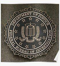 FBI Crest Poster