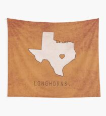 Texas Longhorns Wall Tapestry