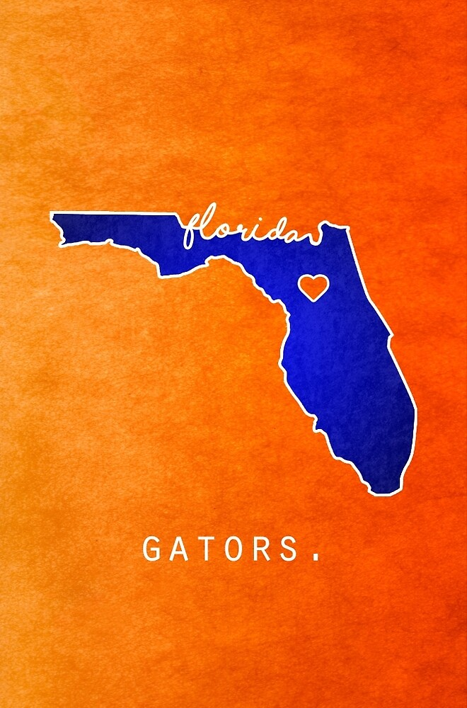 Florida Gators by FeelGoodPrints