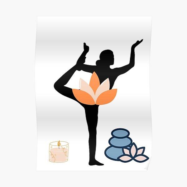 Yoga Exercice Poster