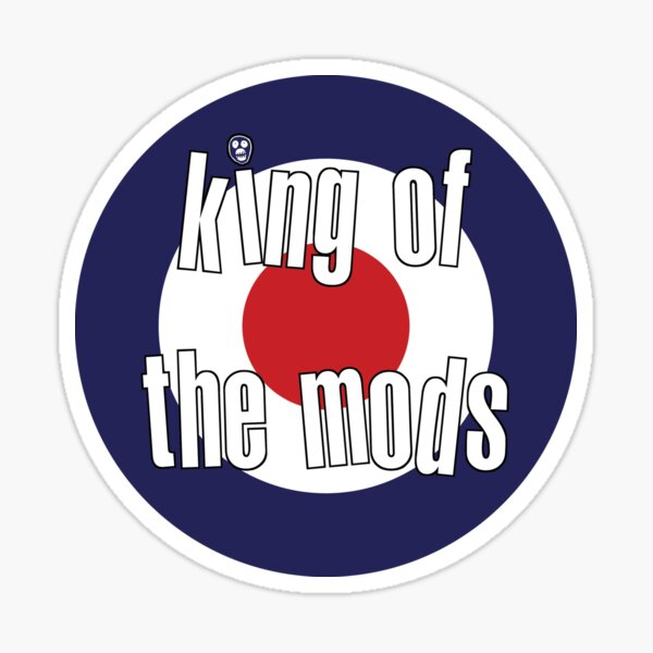 King of the Mods Sticker