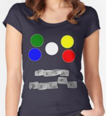 Faga Beefe? Time for some Midnight Madness!  Women's Fitted Scoop T-Shirt