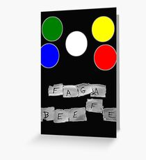 Faga Beefe? Time for some Midnight Madness!  Greeting Card
