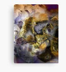 GOLD MINE Canvas Print