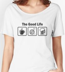 Funny Knitting T Shirt Women's Relaxed Fit T-Shirt