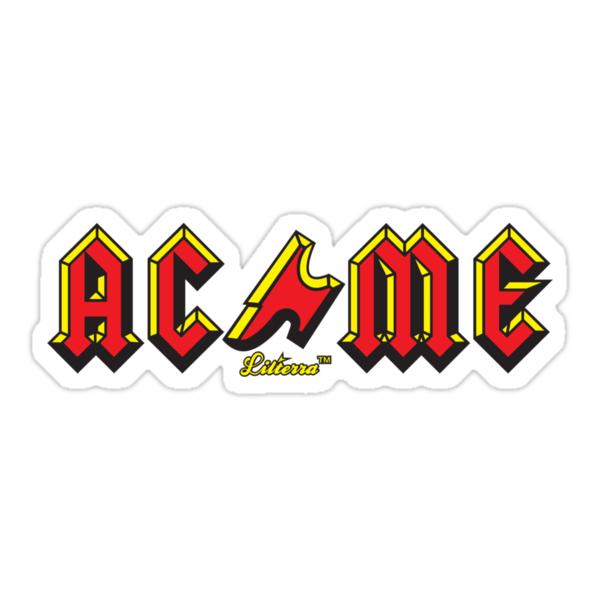 Quot Acme Tnt Dynamite Quot Stickers By Lilterra Redbubble