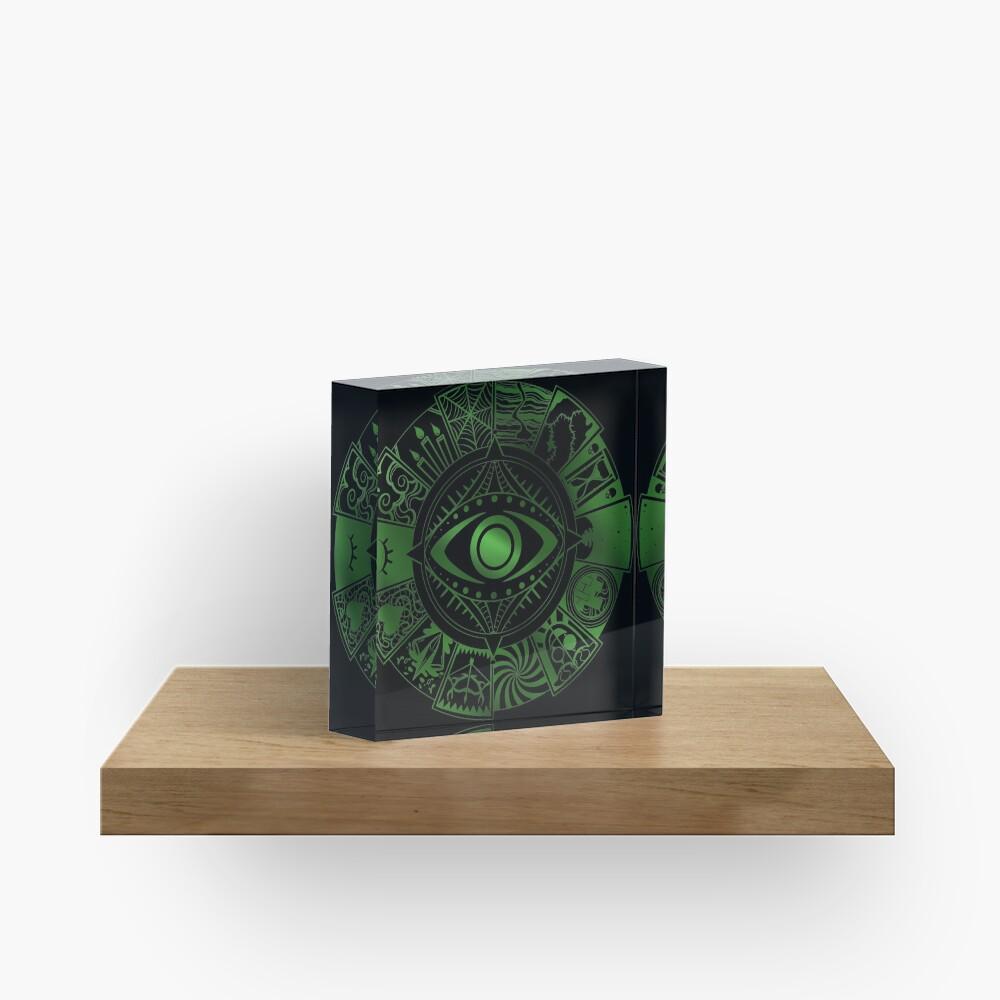Fears Wheel Acrylic Block