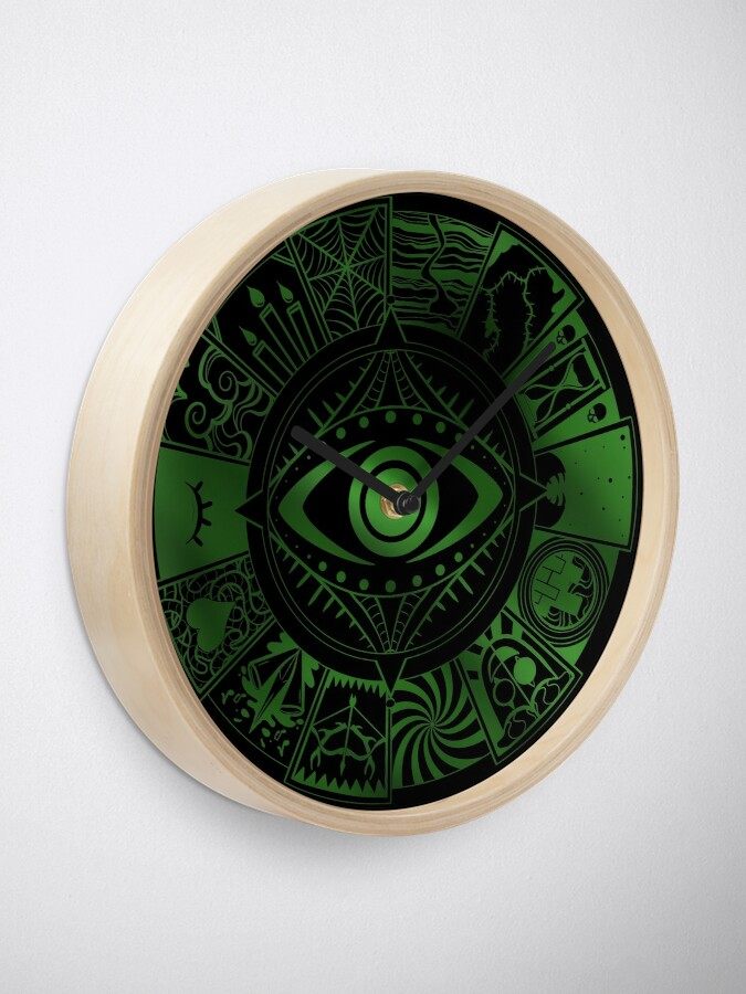Alternate view of Fears Wheel Clock