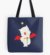 Final Fantasy Mog Moogle Digital Art  Tote Bag