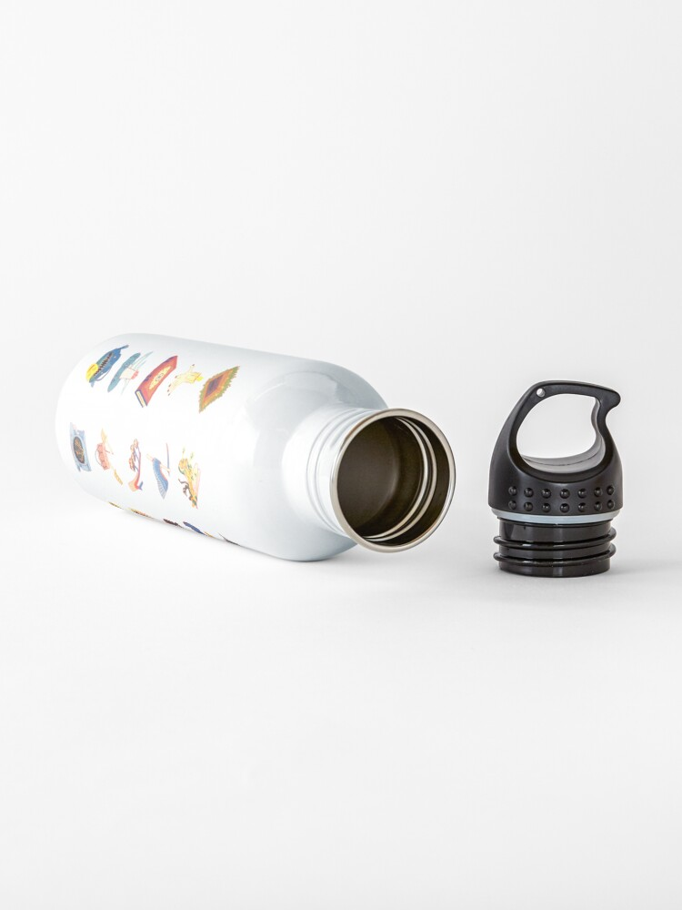 Alternate view of 15 Fears Risograph Icons Water Bottle