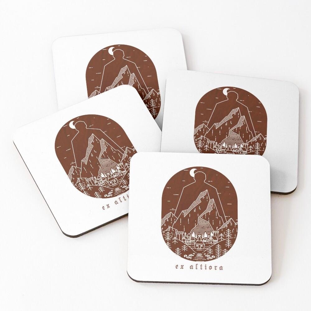 Ex Altiora Cover Coasters (Set of 4)