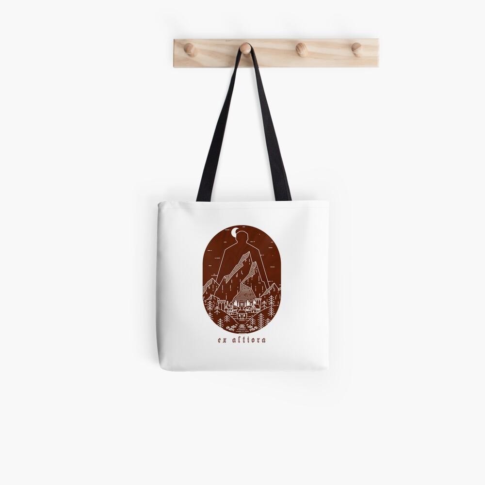 Ex Altiora Cover Tote Bag