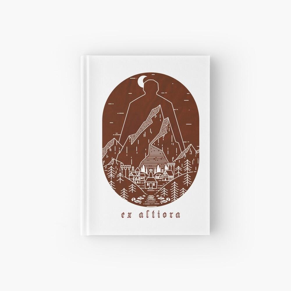 Ex Altiora Cover Hardcover Journal