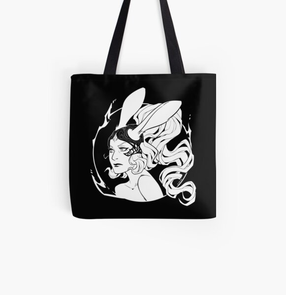 """The Gods Are Toying With Us"" All Over Print Tote Bag"