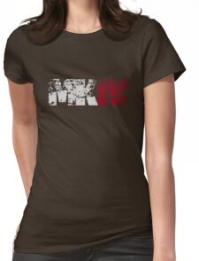 MKIV (white) Womens Fitted T-Shirt