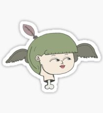 birdgirl Sticker
