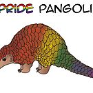 Pax the Pride Pangolin by Catherine Dair