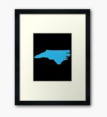 North Carolina Framed Print
