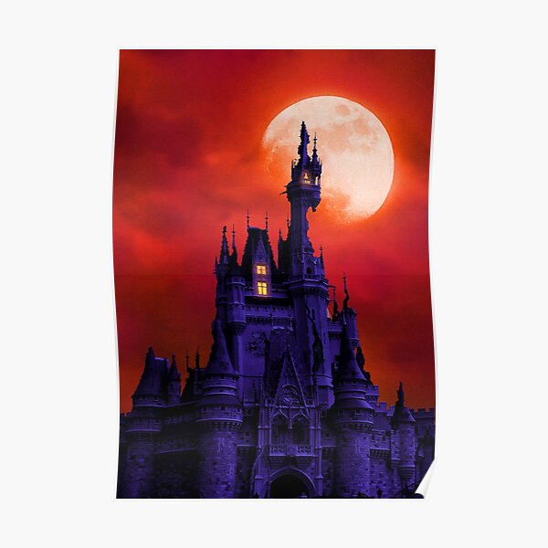 Corrupted Castle - Ruby Poster