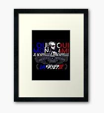Lafayette: America's Fave. Framed Print