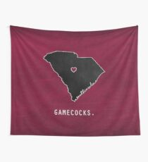 Gamecocks Wall Tapestry