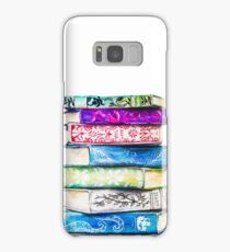 Stack of Books Samsung Galaxy Case/Skin