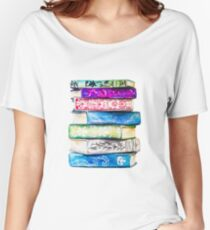 Stack of Books Women's Relaxed Fit T-Shirt
