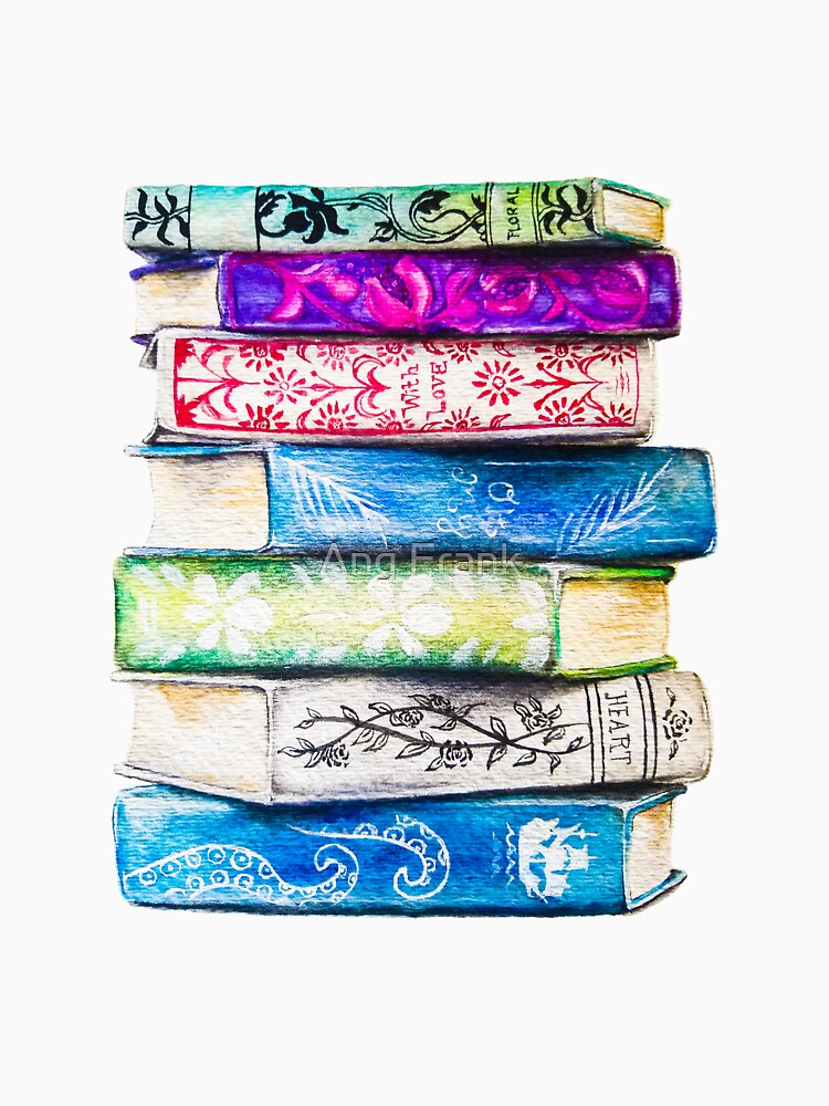 Stack of Books by AngFrank