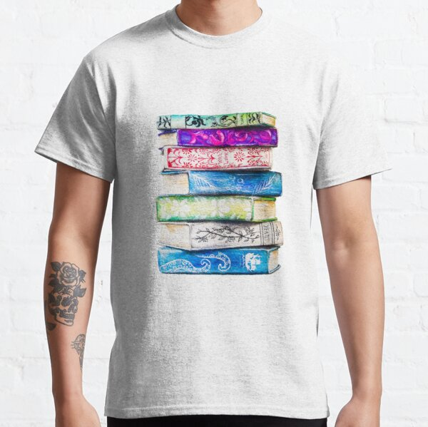 Stapel Bücher Classic T-Shirt